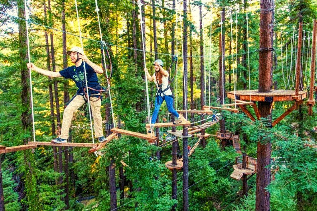 Mount Hermon Adventures Ropes Course