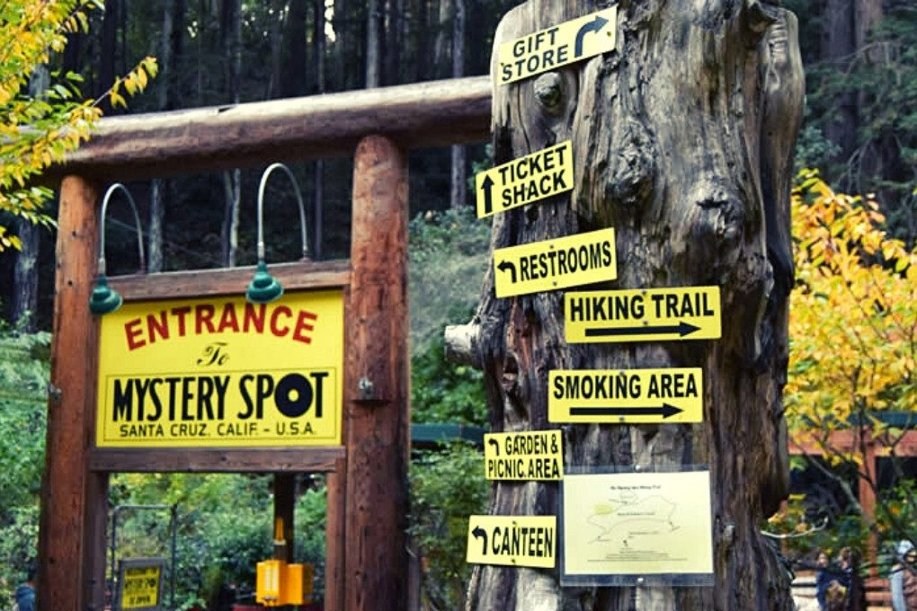 Entrance to the Mystery Spot