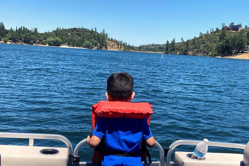 On the Family Pedal Cruiser, Pine Mountain Lake