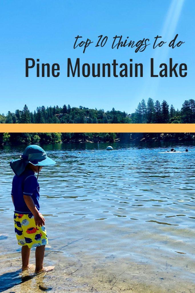 Pin Image for Pine Mountain Lake Pin