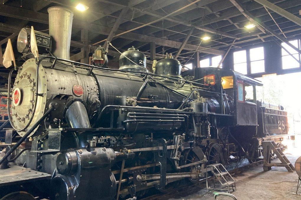 Railtown's Famous Locomotive 3